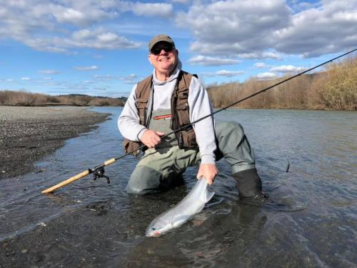 Frank Mad River Steelhead Fishing